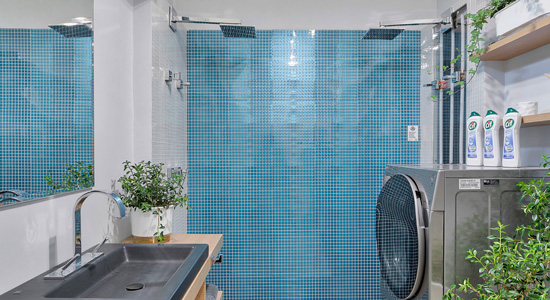 Deca Comfort technology offers up to 60% water savings